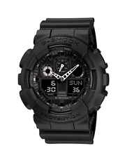 Casio Men's G-SHOCK The GA 100-1A1 Military Series Watch in Black *FREE SHIPPING