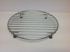"""12-3/4""""  Round  Wire Cooling Rack Stainless Steel"""