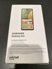 Samsung Galaxy A12 - Blue - 32GB (Cricket Wireless)  BRAND NEW