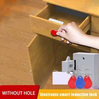 1 set Smart Lock for Locker Drawer Smart Sensing Induction Cabinet Wardrobe Door