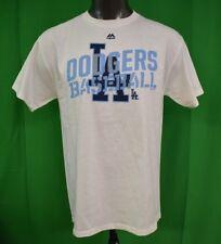 Majestic MLB Mens Los Angeles Dodgers Baseball Shirt NWT $25 L