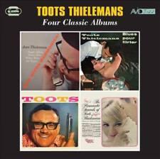 TOOTS THIELEMANS - FOUR CLASSIC ALBUMS: MAN BITES HARMONICA/BLUES FOR LIRTER/TOO
