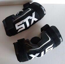 STX Stallion 50 Lacrosse Arm Pads Youth Medium Protective Gear Black