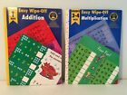 Home Learning Tools Easy Wipe-Off Gr 1 Addition 1998 Gr 3-4 Multiplication 1999