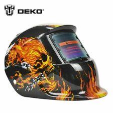 DEKOPRO Solar Auto Darkening MIG MMA Welder Cap Electric Welding Helmet Mask
