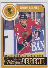 14/15 OPC...JEREMY ROENICK...MARQUEE LEGEND...CARD # 566...BLACKHAWKS