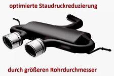 Sportauspuff Golf 5 6 R32 Auspuff Endschalldämpfer VW VI V TDI TSI R20 R GTD GTI