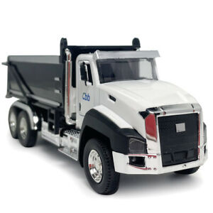 1:50 Scale Dump Truck Tipper Model Diecast Construction Vehicle Toy Kids Gift
