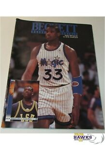 October, 1992 Beckett Basketball Monthly - Issue #27 - Shaquille O'Neal Rookie