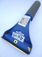 (6,95€/Einheit) 1 x Eiskratzer Eisschaber mit Messingklinge blau mit Softgriff