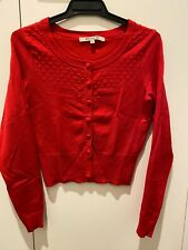 REVIEW red cardigan / jumper size 6