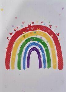 Rainbow Blank Card