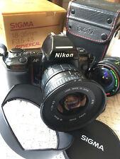 Nikon AF f-801 con 2 obiettivi-dove un wide SIGMA 18-35 Aspherical