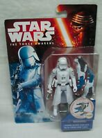 """Star Wars The Force Awakens First Order SNOWTROOPER 4"""" Action Figure Toy NEW"""