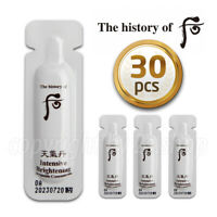 [The history of Whoo] Intensive Brightening Ampoule Concentrate 1ml x 30pcs