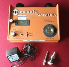 Mountz M-100 Analog Digital Torque Tester 0-100 lbf-in with Case Charger Paper