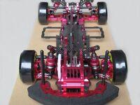 Alloy & Carbon SAKURA D3 CS 3R OP RC 1/10 4WD Drift Racing Car Frame Kit 1:10