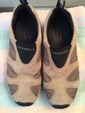 Women's MERRELL jungle moc ventilator shoes size 7.5 TAUPE