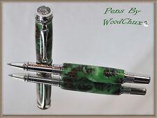 Handmade Mini Pine Cone Writing Rollerball Or Fountain Pen Beautiful Artwork 578