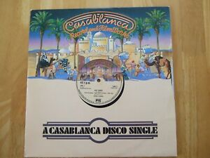 "DONNA SUMMER LAST DANCE/WITH YOUR LOVE 12"" VINYL SINGLE 1978 CASABLANCA RECORDS"