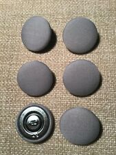 Dove Grey 45L/28mm Fabric Covered Buttons Craft Sewing Upholstery