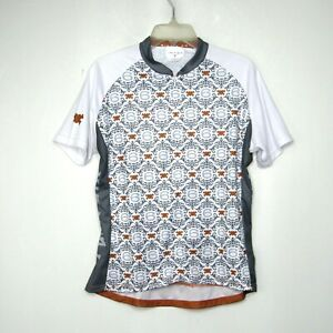 TWIN SIX Womens Size XL Short Sleeve Bicycle Cycling Jersey