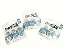Energizer CR2032 Batteries Lithium, 3V Lithium Coin Cell 2032 Watch Battery Lot