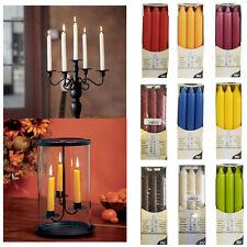 6 Table Candles Wax Pillar Dinner Party Wedding Home Decor Unscented Reiki Magic