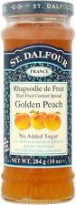 St. Dalfour Golden Peach Fruit Spread No Added Sugar (20x284g)