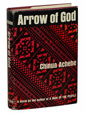 Arrow of God by CHINUA ACHEBE ~ First US Edition 1967 ~ 1st Things Fall Apart