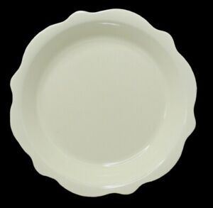 """Southern Living at Home GAIL PITTMAN Hospitality Ivory Cream Pie Plate - 10 1/2"""""""