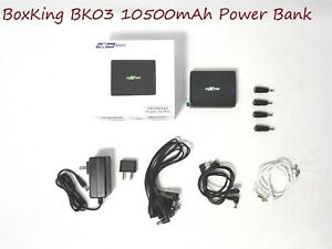 BoxKing BK03 Noise-free Power Bank for Pedalboard/Musical Instruments, 10500mAh