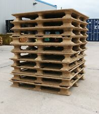 More details for wooden compressed pallets-in sets of 10-used but in great condition !collection!
