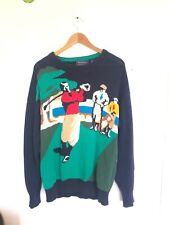 Men's Knit Golfer Sweater