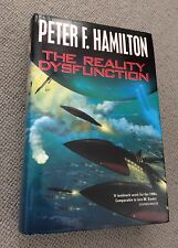 Peter F Hamilton THE REALITY DYSFUNCTION hardback 1/1 1st ed 1996 Macmillan VG
