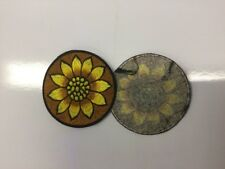New sew on Sunflower Hippie Boho Festival Patches  Made in Nepal 9 cm