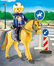 Playmobil - Berufe rund ums Pferd - Berittener Polizist, Neu, Ovp, 9260