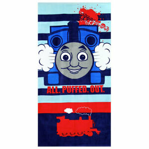 Thomas The Tank Engine Character Cotton Beach Holiday Gift Towel Kids Childrens