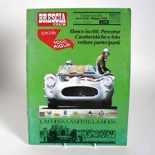 BRESCIA CLUB 1992 MILLE MIGLIA SPECIAL ITALIAN MAGAZINE HISTORIC CAR RACING MM