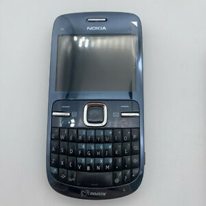 Original Nokia C Series C3-00 Bluetooth FM JAVA 2MP Unlocked WIFI Mobile Phone