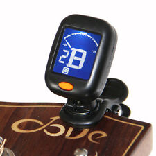Professional Portable Clip On Digital Tuner  Guitar Bass Accessory Easy to use