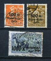 German Reich : Rhein and Ruhr Help set from 1923 - COMPLETE - used - !!!