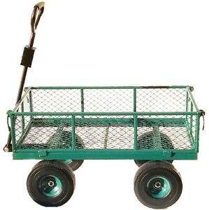 Heavy Duty Outdoor Trolley. 6 bolt Assembly. Puncture Proof Tyres. OT1006W6