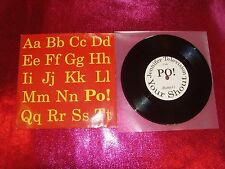 PO! - THE ALPHABET E.P. - 7'' EX/EX+/RUTEP11/A1-B/1997
