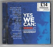 (GY703) Various Artists, Yes We Can: Voices Of A Grassroots Movement - 2008 CD