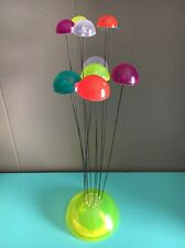 VTG Mid Century Modern Lucite Ball Wire Kinetic Sculpture Eames Era, atomic 60s