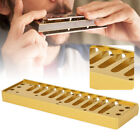 Portable Harmonica Comb 10  Hole Blues Harp Comb Part for HOHNER SP20 Gold Gift
