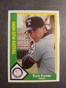 Travis Fryman Toledo Mud Hens Detroit Tigers 1990 Minor League Baseball Card