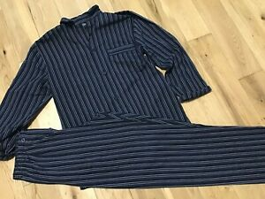 Debenhams Men's Black Stripe Polycotton Pyjamas Size S
