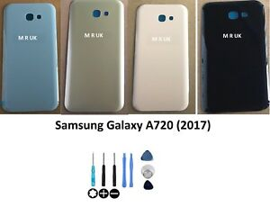 SAMSUNG GALAXY A720 A7(2017) BATTERY BACK COVER BACK GLASS +TOOLS